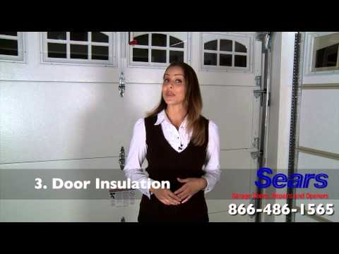 How to Select a Sears Garage Door