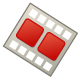Edit footage icon