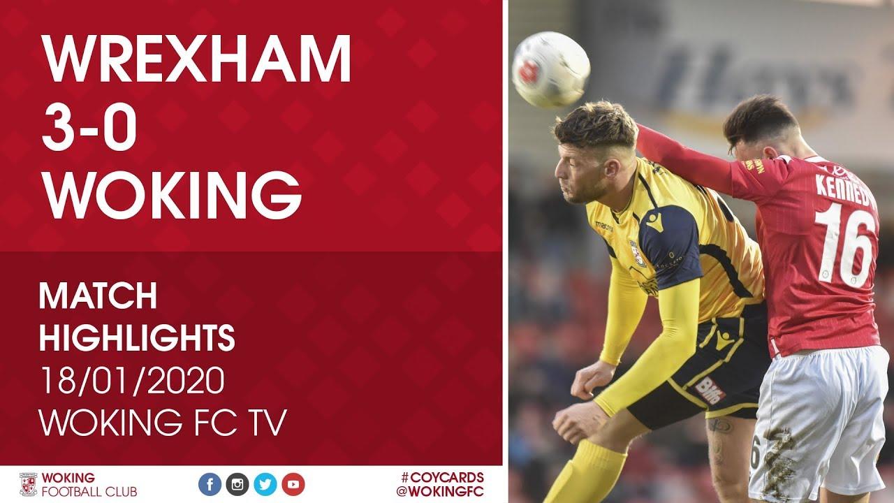 Wrexham 3 - 0 Woking