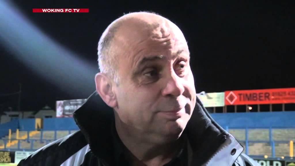 Macclesfield Town 0 - 0 Woking (Garry Hill Interview)