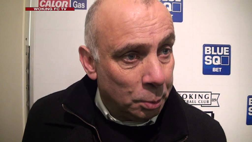 Woking 5-2 Telford United (Garry Hill Interview)