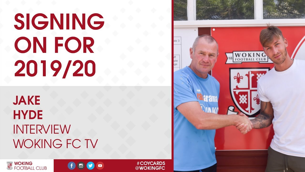 Jake Hyde   Signing On For 2019/20