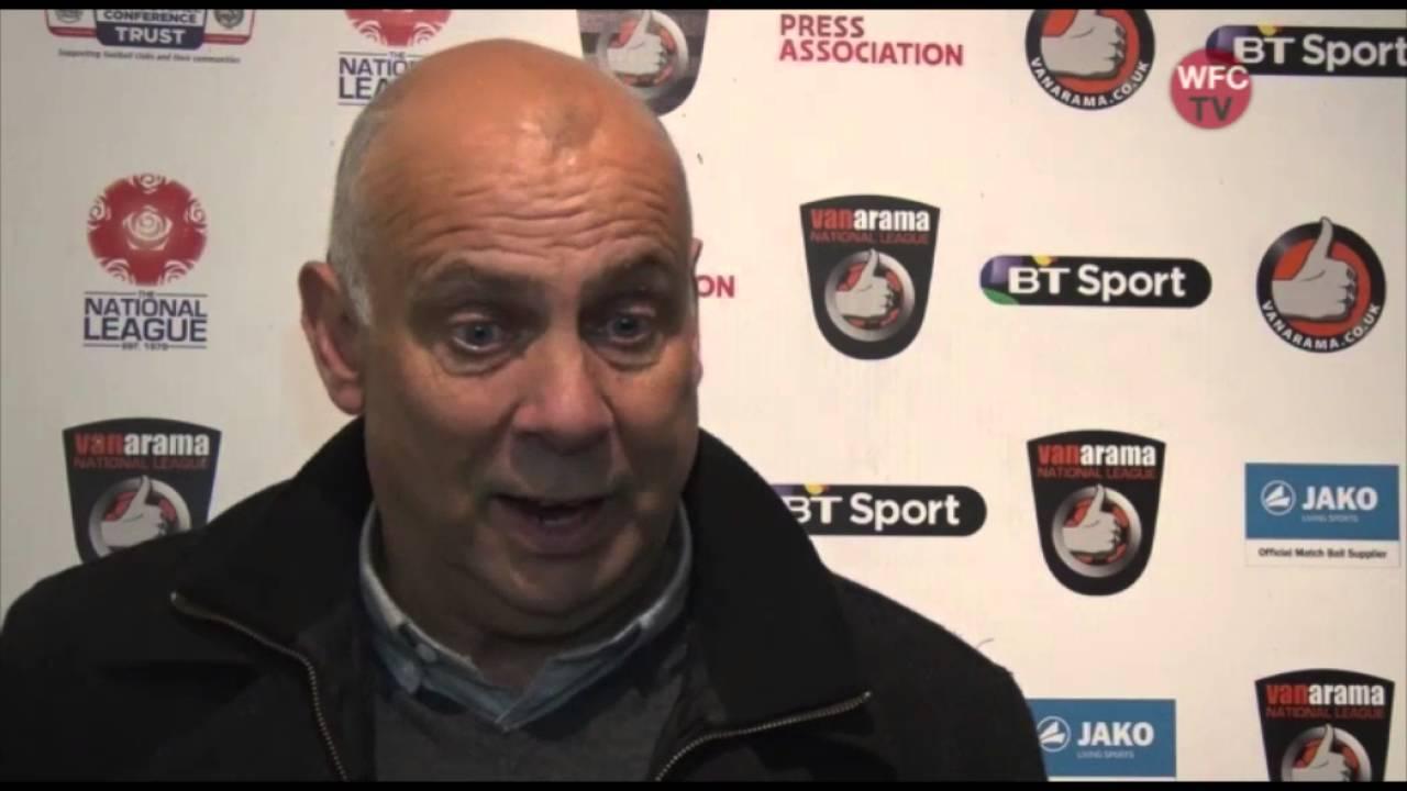Woking 2 - 1 Eastleigh (Garry Hill Interview)