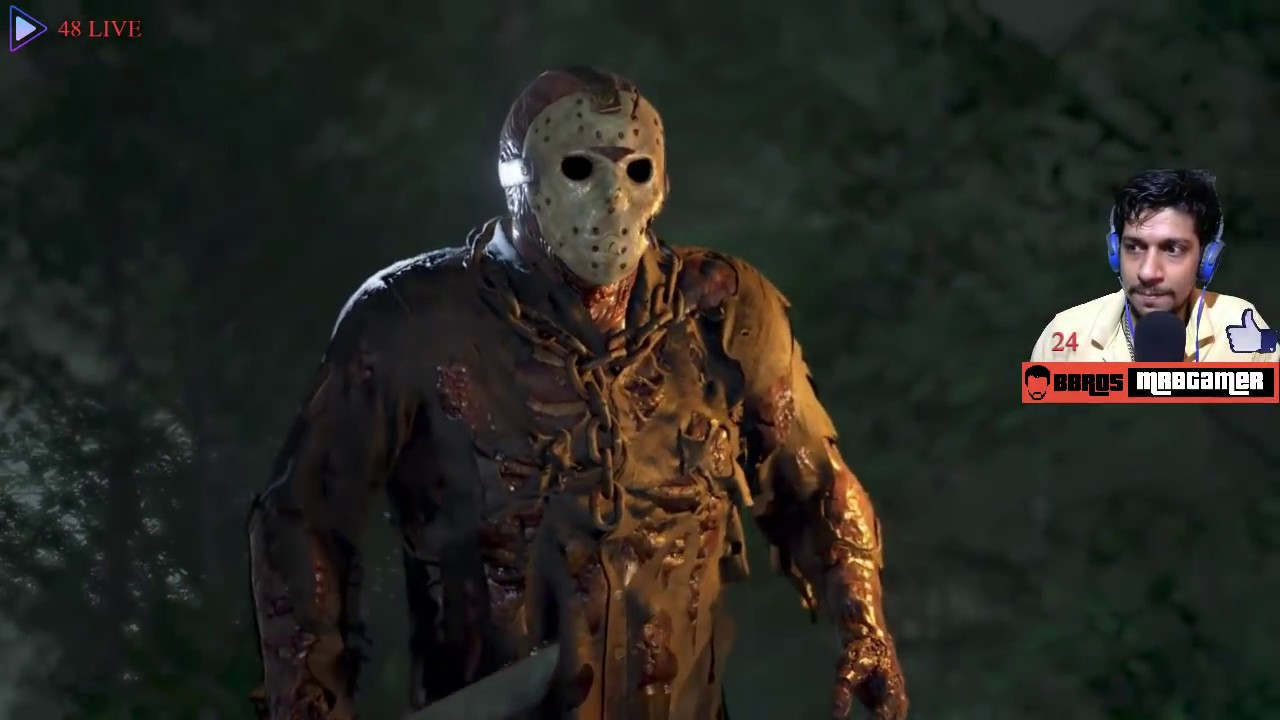 Friday the 13th Game|Desi| Horror Night || Jason Lives ||#04