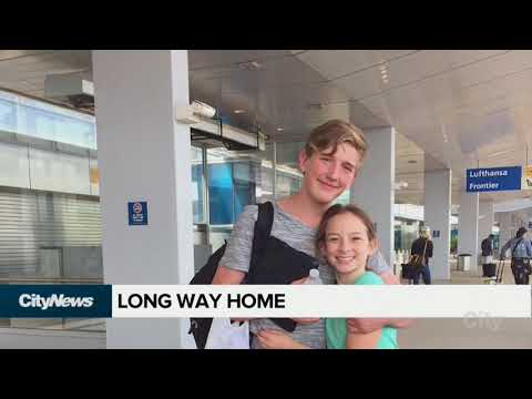 Edmonton boy, 14, finds his way across border after Air Canada flight cancelled