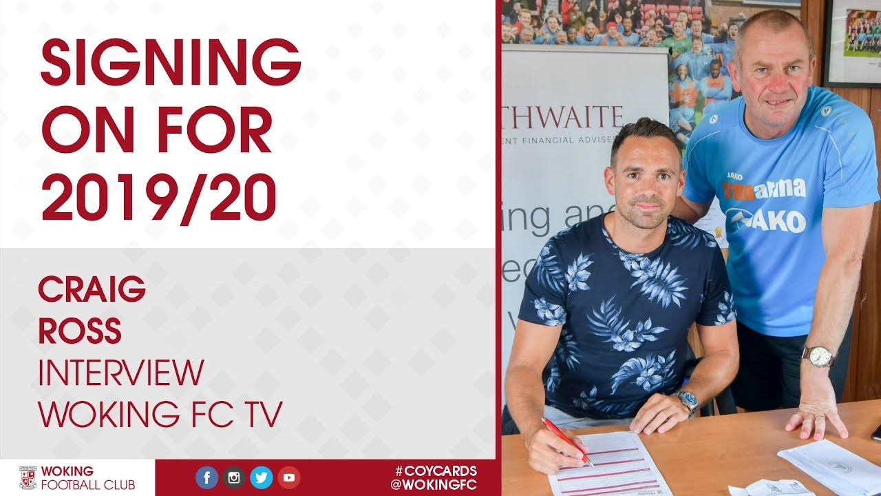 Craig Ross   Signing On For 2019/20