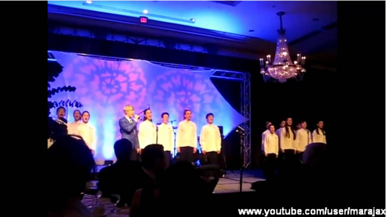 Jack Vidgen Joins The Qantas Choir I still Call Australia Home USA 2012