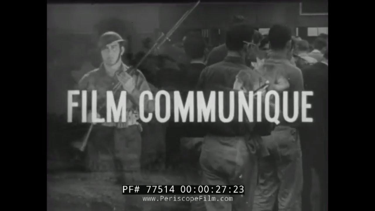 WAR FILM 20 FILM COMMUNIQUE WORLD WAR II  RENDOVA INVASION  77514