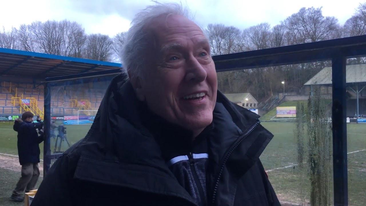 FC Halifax Town 0 - 2 Woking | Martin Tyler Interview