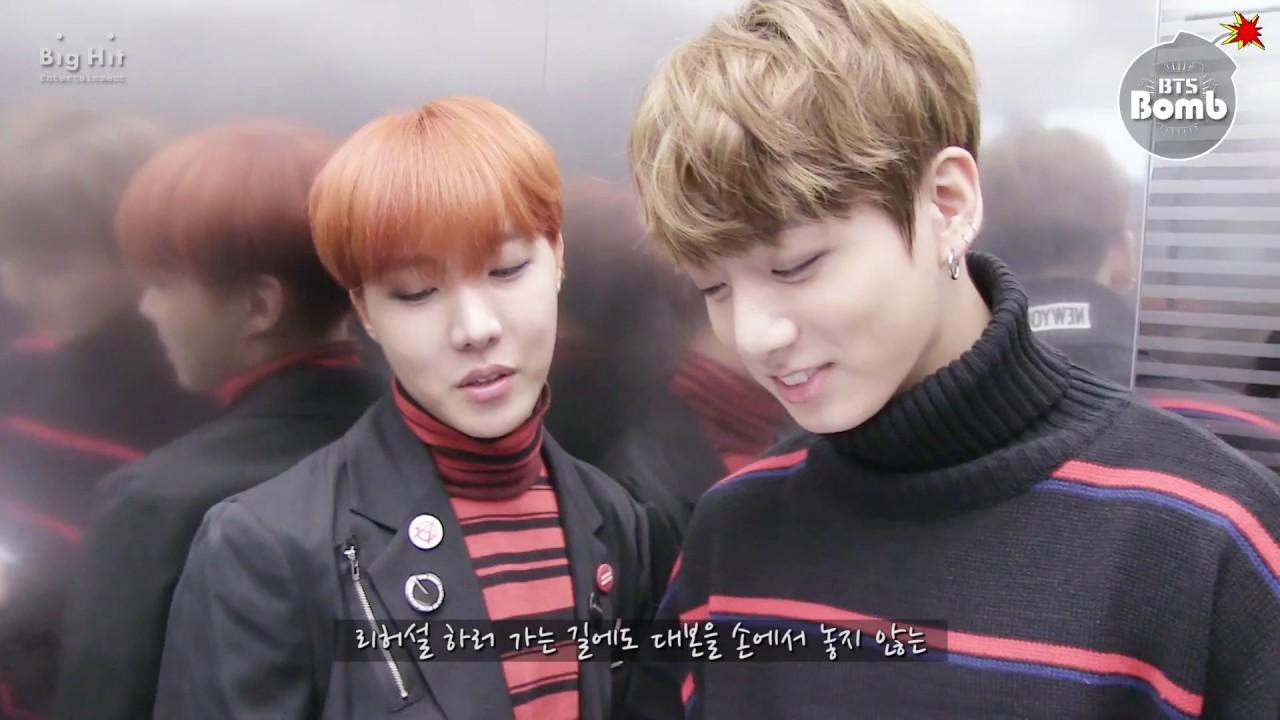[ENG SUB] [BANGTAN BOMB] j-hope&JungKook Show Music core Special MC