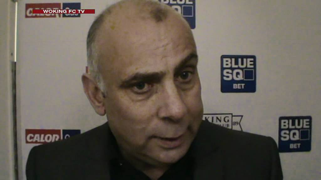 Woking 4-1 Dorchester Town (Garry Hill Interview)