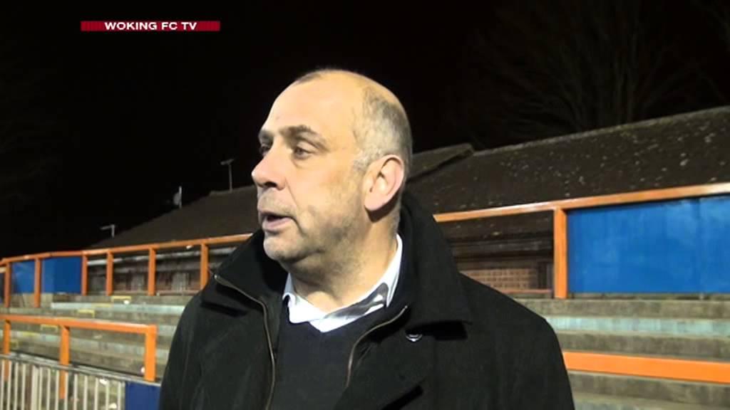 Braintree Town 1 - 1 Woking (Garry Hill Interview)
