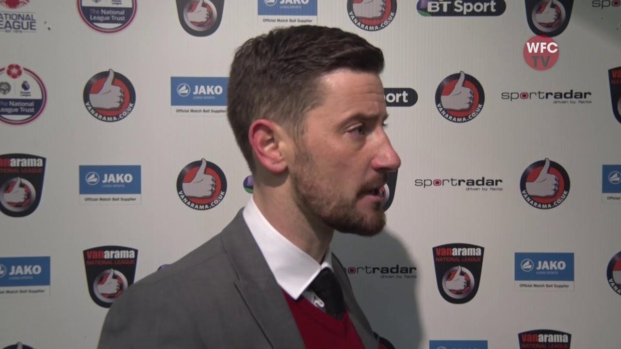 Woking 2 - 2 Wrexham (Anthony Limbrick Interview)