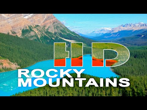 THE ROCKY MOUNTAINS   CANADA - A TRAVEL TOUR - HD 1080P