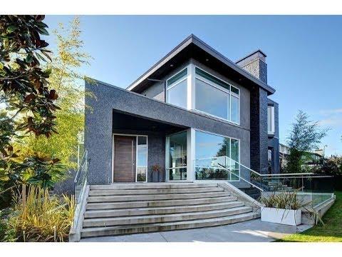 Extraordinary Contemporary Home in Vancouver, British Columbia, Canada