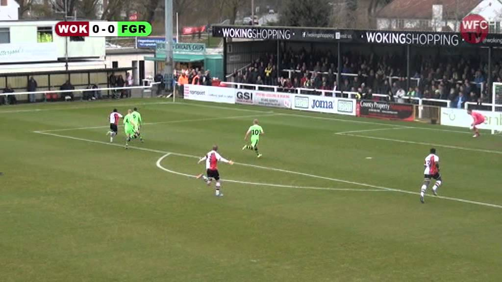 Woking 1 - 0 Forest Green Rovers