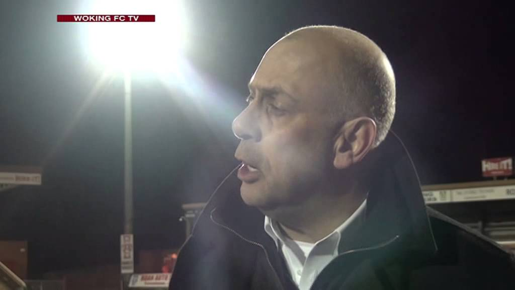 Kidderminster Harriers 2 - 2 Woking (Garry Hill Interview)