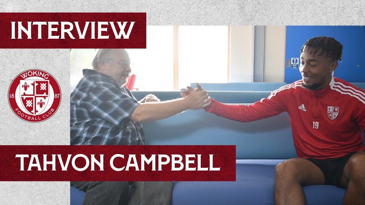 Tahvon Campbell   Interview