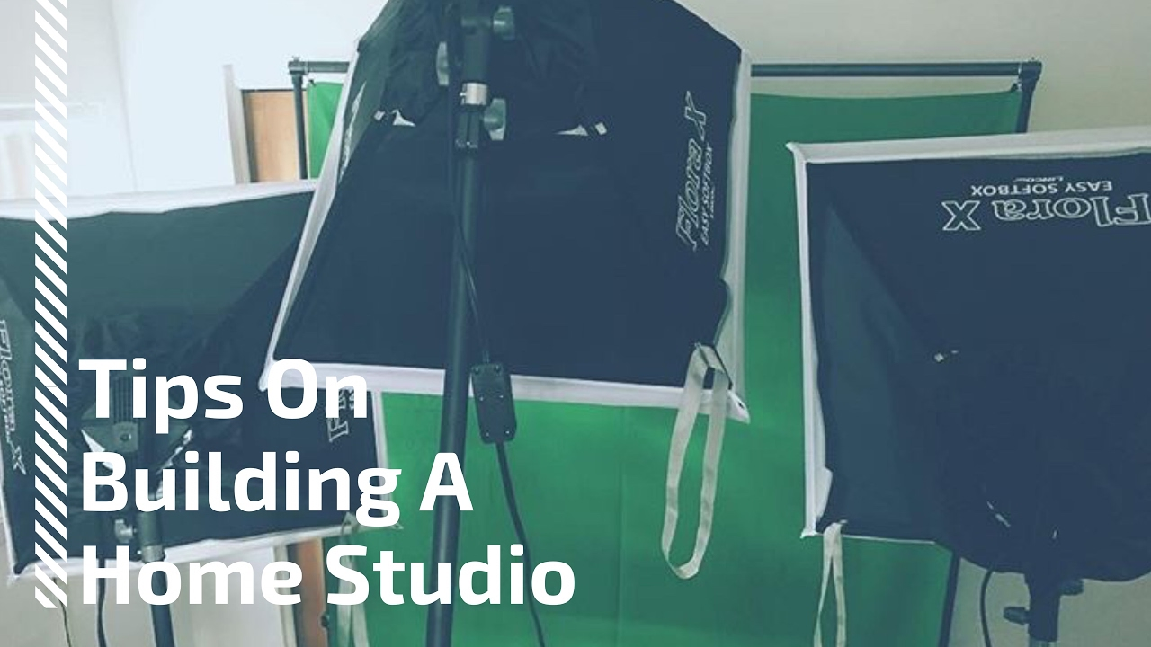 Tips On Buildng A Home Studio!!