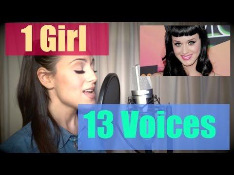 JENNY MARSALA - 1 Girl 13 Voices (Katy Perry, Adele, Shakira, Taylor Swift, Lady Gaga)