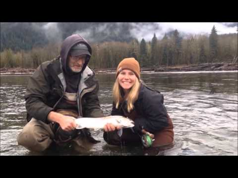 Awesome Bull Trout flyfishing near Vancouver BC