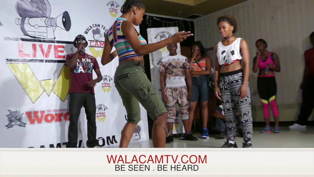 Walacam Tv - Hip Roll Battle - Latrice vs. Jonnae -Pt. 2 (NEW DANCERS)
