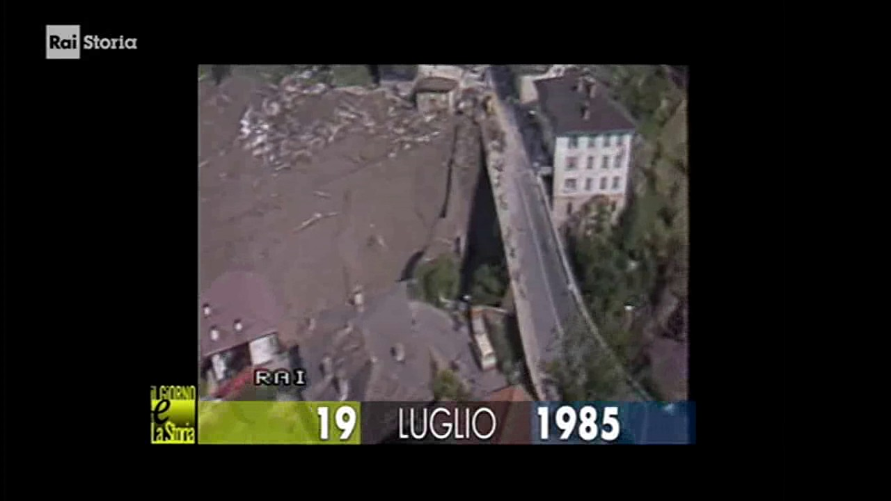 (Giorno & Storia) 19 luglio 1985 Dolomiti, Trentino orientale: