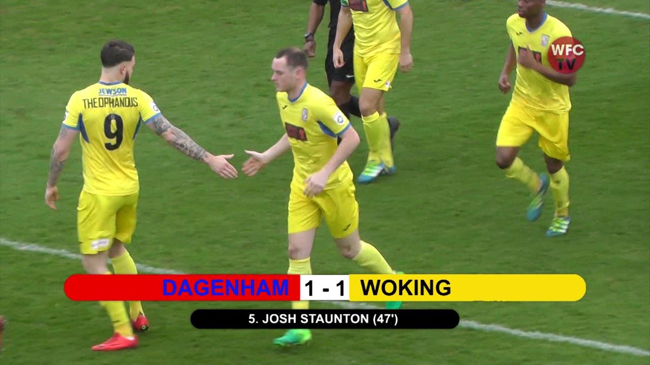 Dagenham & Redbridge 1 - 1 Woking