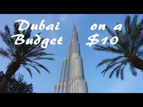 Dubai on a Budget: $10 in 1 Day? (Part 2 - New Dubai)