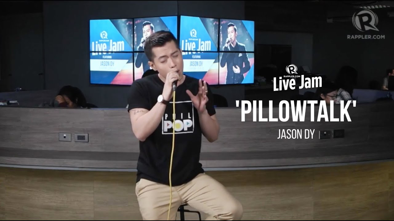 Rappler Live Jam: Jason Dy – 'Pillowtalk' (ZAYN cover)