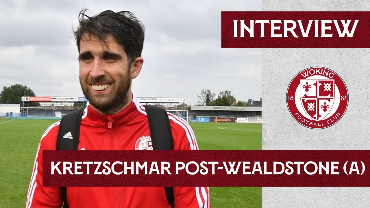 Wealdstone 1 - 2 Woking | Max Kretzschmar Interview