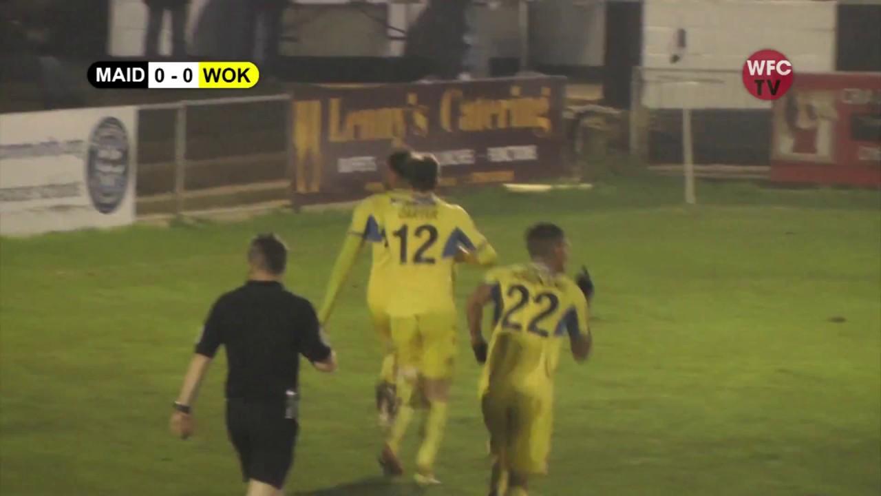 Maidenhead United 2 - 1 Woking