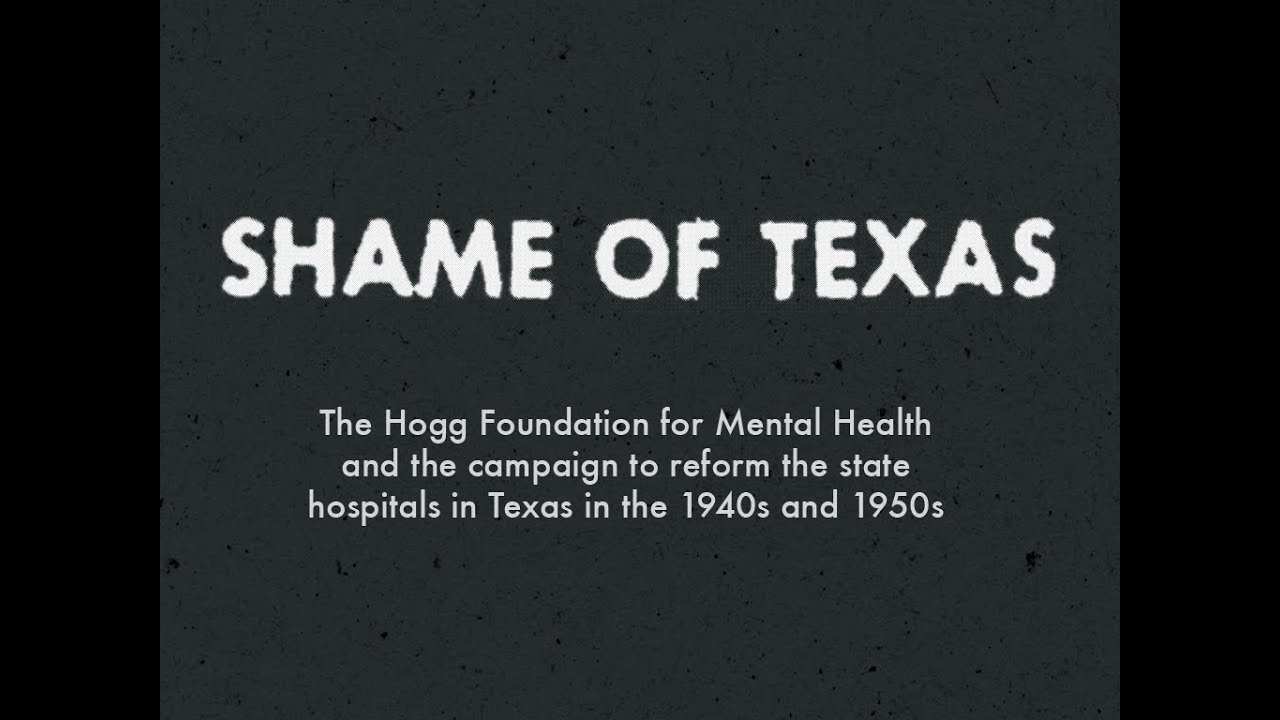 The Shame of Texas