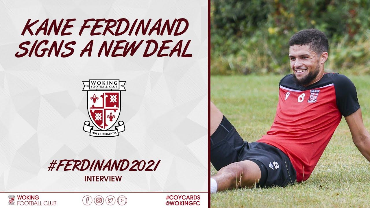 Kane Ferdinand Signs a New Deal | #Ferdinand2021