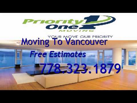Moving to Vancouver Canada   Priority 1 Moving Vancouver