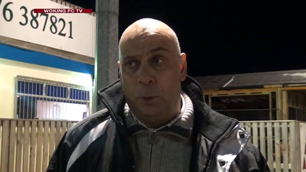Nuneaton Town 0 - 0 Woking (Garry Hill Interview)