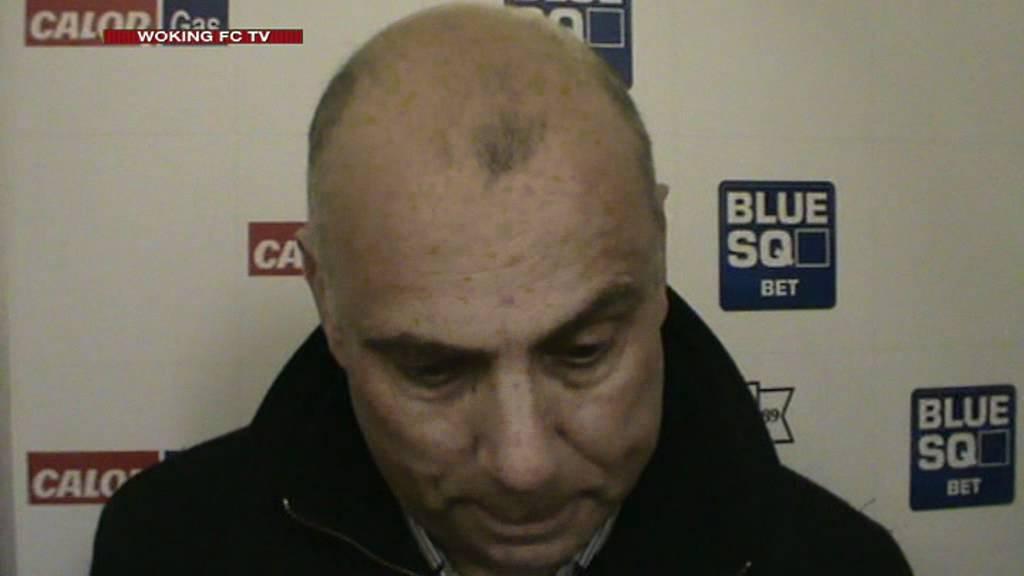 Woking 2-1 Tonbridge Angels (Garry Hill Interview)