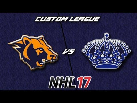 NHL 17 - Custom League - Vancouver Grizzlies @ Philadelphia Kings
