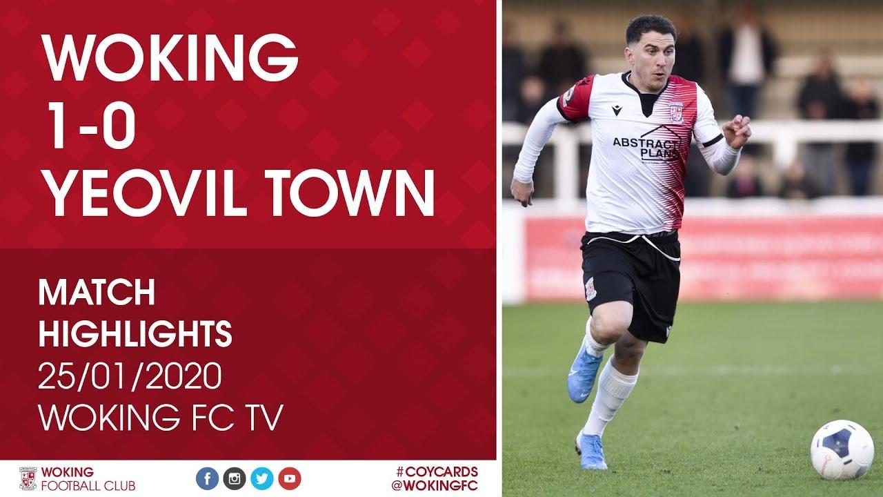 Woking 1 - 0 Yeovil Town