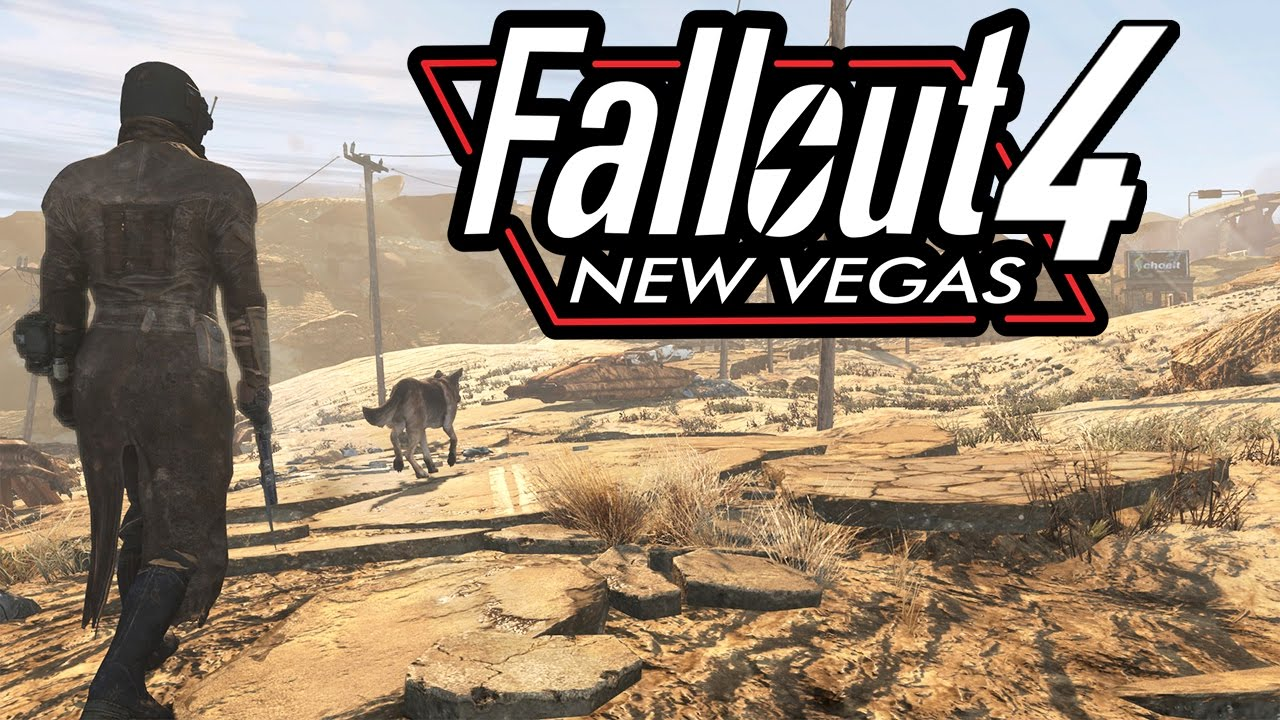 Turn Fallout 4 into Fallout New Vegas - Dustbowl Overhaul MoD (XBOX/PC) Desert Overhaul