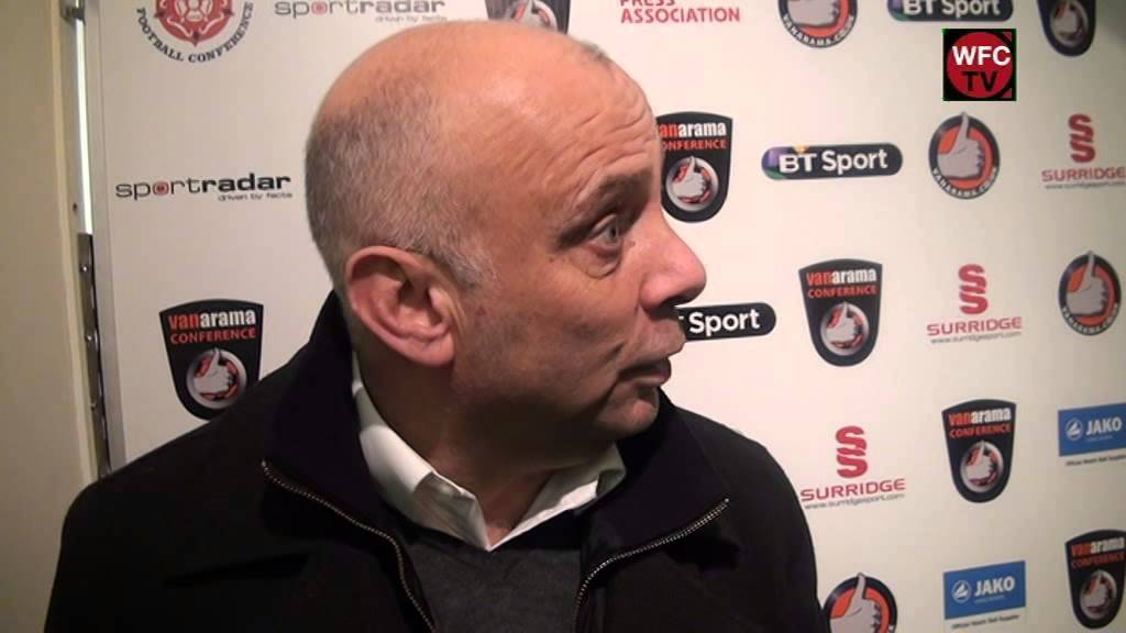 Woking 2 - 2 Welling United (Garry Hill Interview)