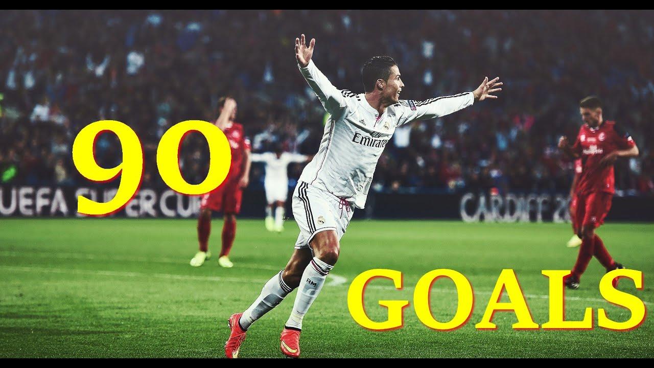 Cristiano Ronaldo ►Goals in Every Minute | 1-90 HD