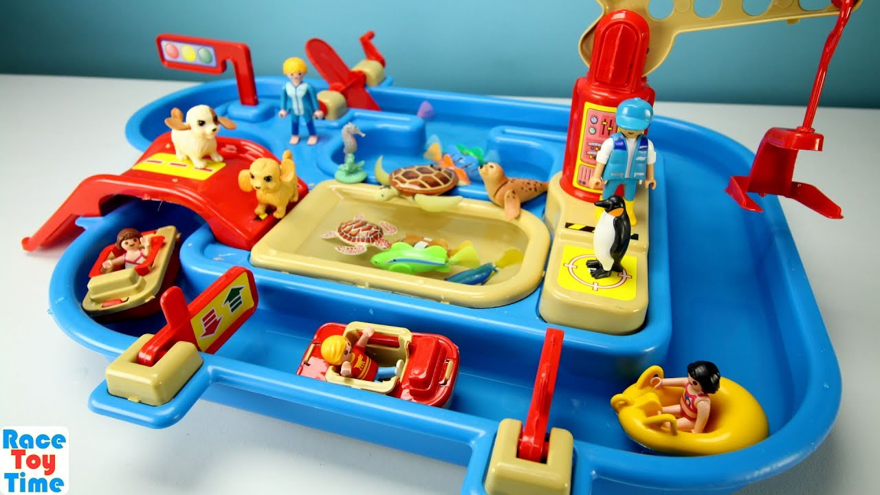 Water Park Playset with Sea Animals - Fun Toys For Kids