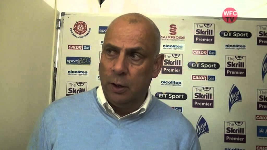 Woking 2 - 1 Forest Green Rovers (Garry Hill Interview)