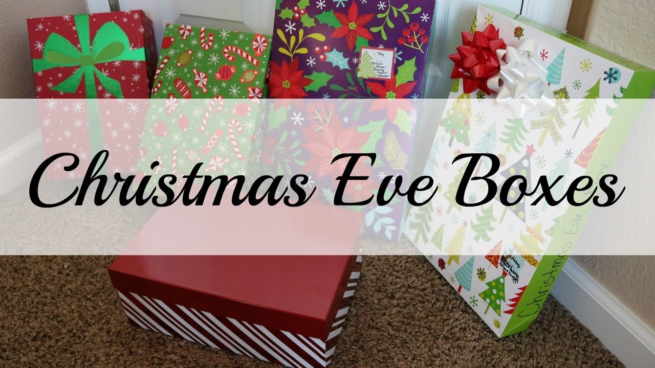 Whats In Our Christmas Eve Boxes 2016 - Vlogmas Day #23