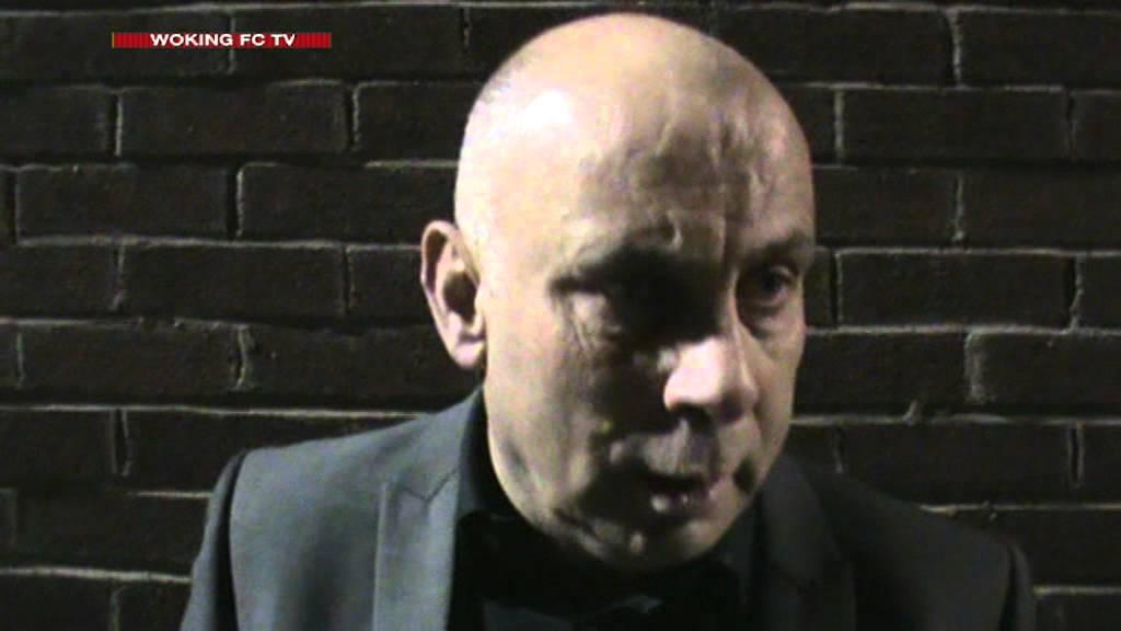 Weston-super-Mare 0-3 Woking (Garry Hill Interview)