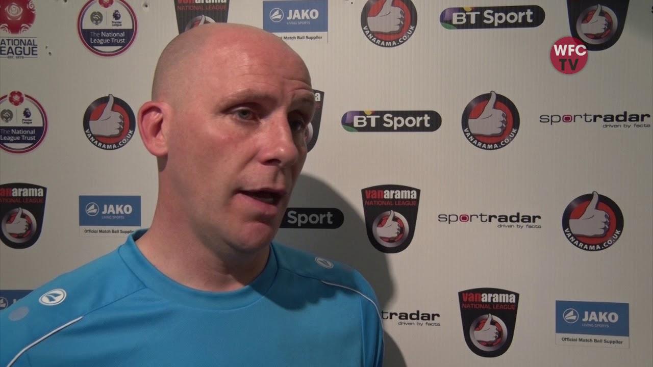 Woking 0 - 2 Bromley (Jason Goodliffe Interview)