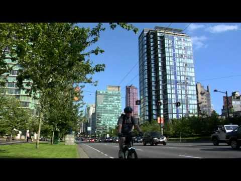 Vancouver - city life West End, Stanley Park, Coal Harbour