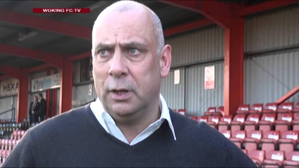 Tamworth 2 - 1 Woking (Garry Hill Interview)