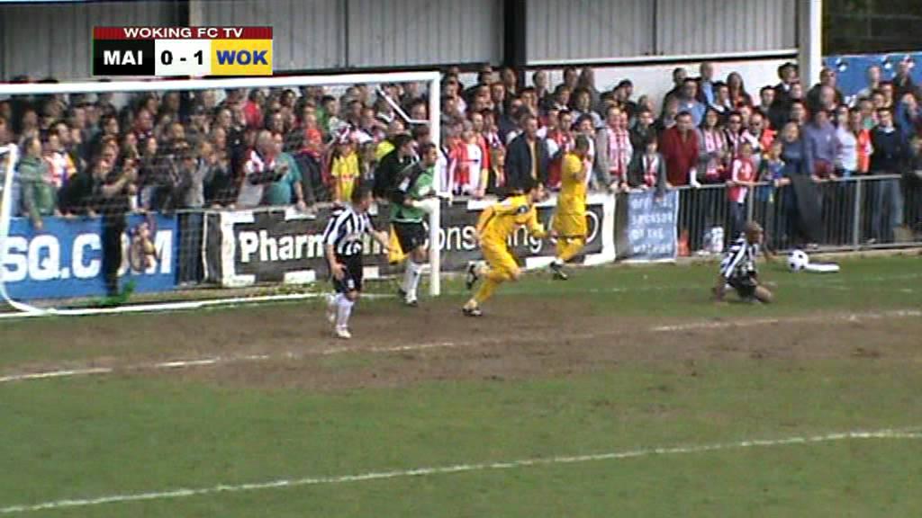 Maidenhead United 0-1 Woking